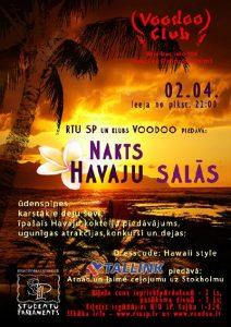 Nakts Havaju salās